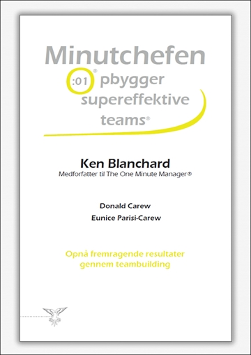 Minutchefen opbygger supereffektive teams